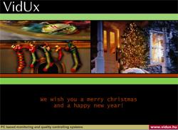 Vidux Karácsonyi Üdvözlőkártya