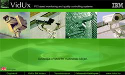 Vidux Multimédiás CD nyitó kép