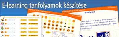 E-learning tananyagok készítése