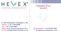 Hevex Cosmetics Arculattervezés