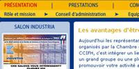 Francia Magyar Kereskedelmi és Iparkamara weboldal