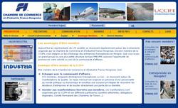 Francia Magyar Kereskedelmi és Iparkamara weboldal terv
