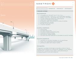 Nastron Kft. bemutatkozó weboldal