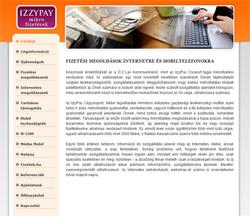 D.C. Lax weboldal grafika