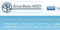 Árvai Barta weboldal készítés