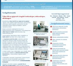 Orvosi weboldalunk belső oldala