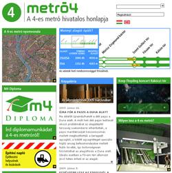Metro4 főoldal